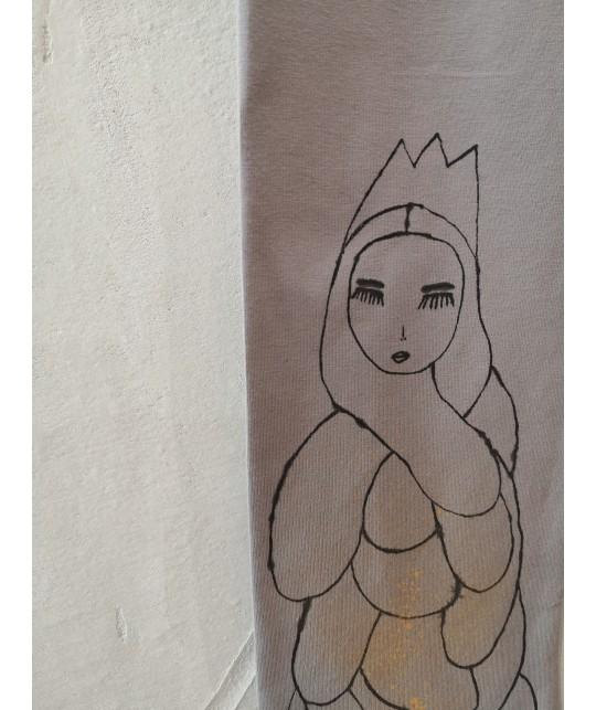 wanna be a queen leggings XXL