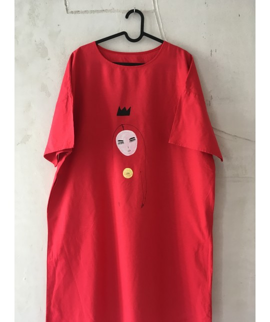 crown and om dress S