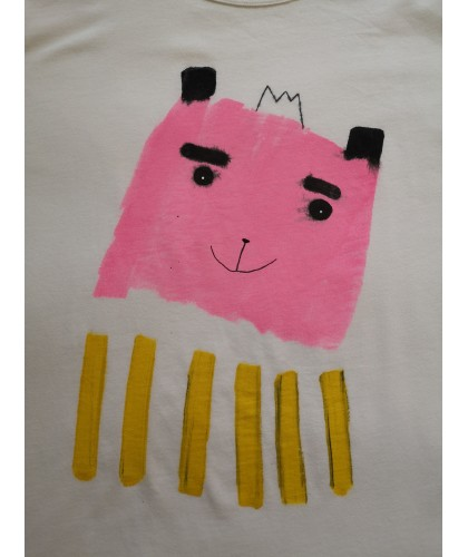 pinky zebra t'shirt XL