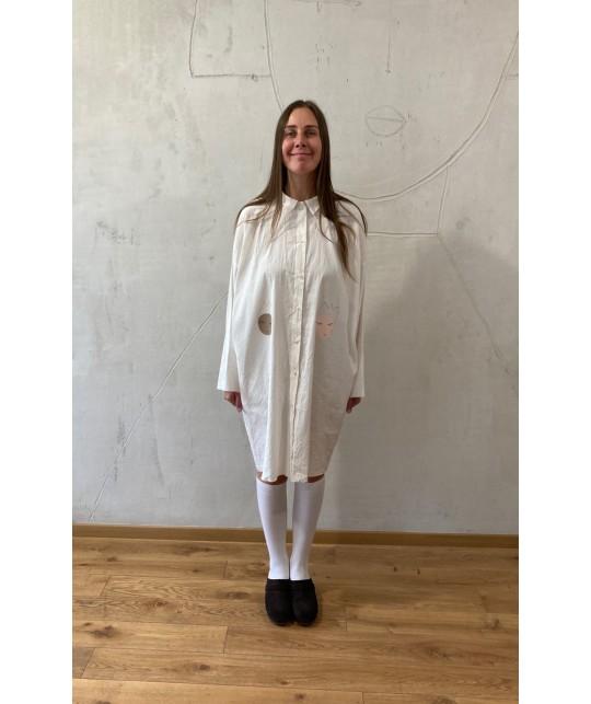 sisters shirt dress jacket