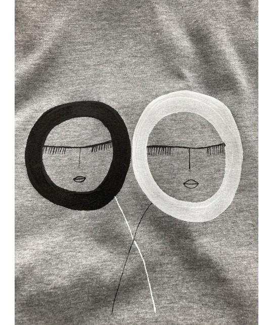 sleeping love t'shirt XL