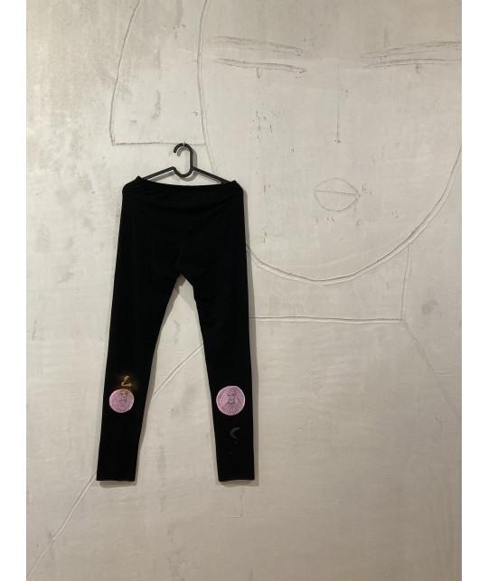 pink moon leggings XL