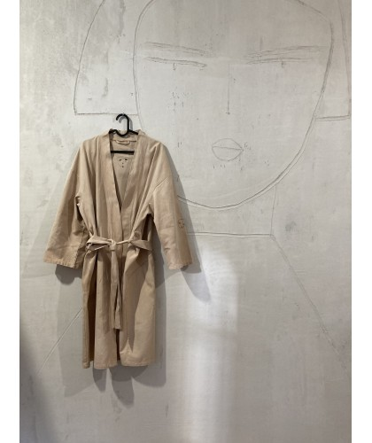 my silence home overall - bathrobe oversize