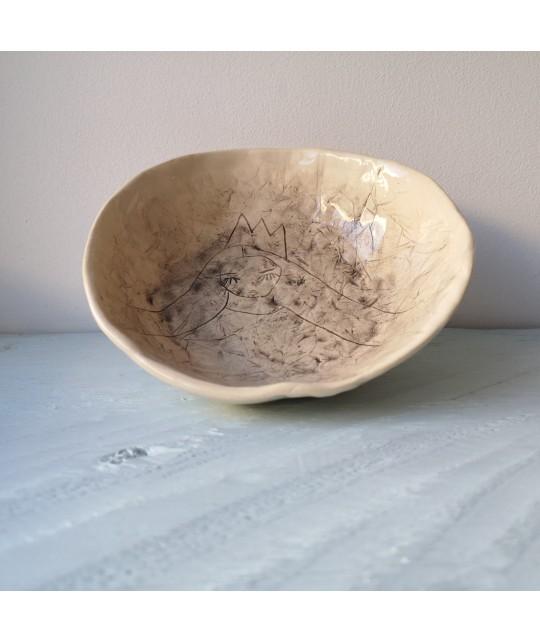 mountain princess plate   bowl