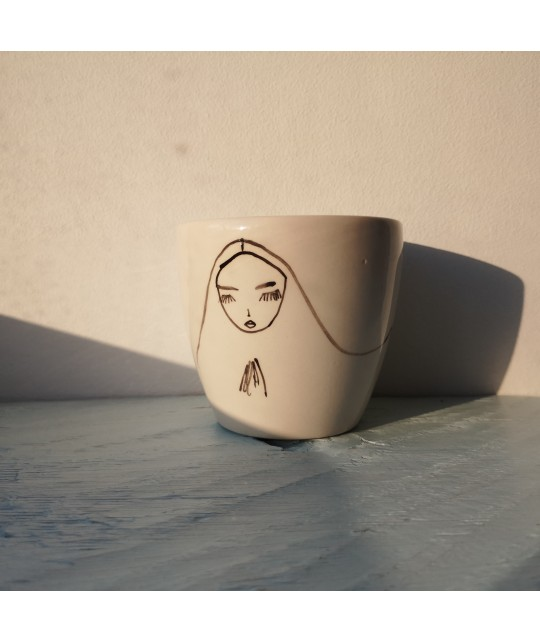 long hair princess cup