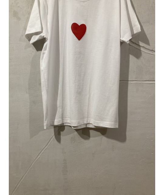 just red heart t'shirt S