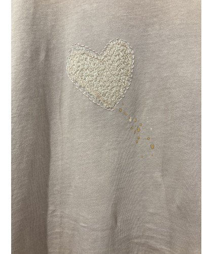 heart from heart t'shirt S | plantdyed