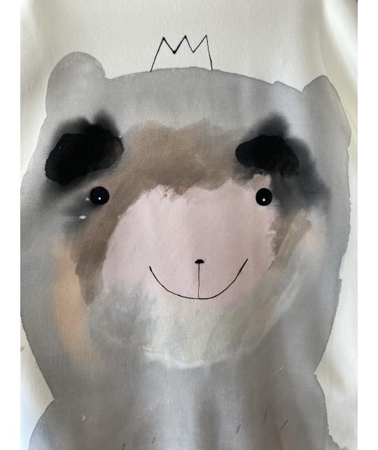 pastel life bear jumper S