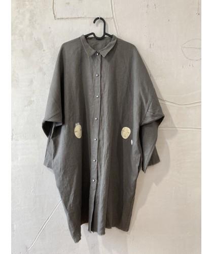 silence castle shirt dress jacket