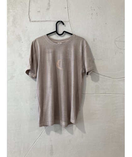 my simple moon t'shirt S | plantdyed