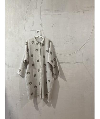 bears heaven shirt dress jacket