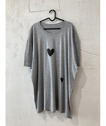 two heart t'shirt, tunic, dress, pijamas 4XL