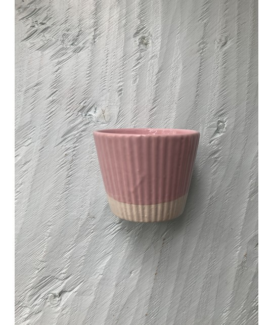 pink biscuit cup