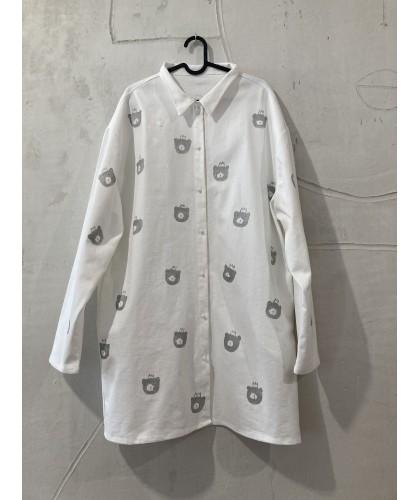 white bear house|shirt |jacket