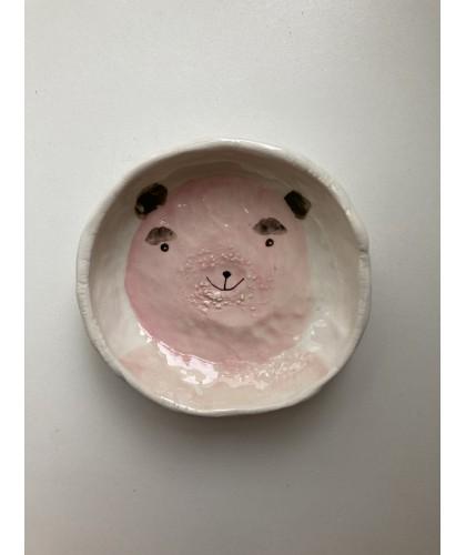 happy bear little bowl | plate