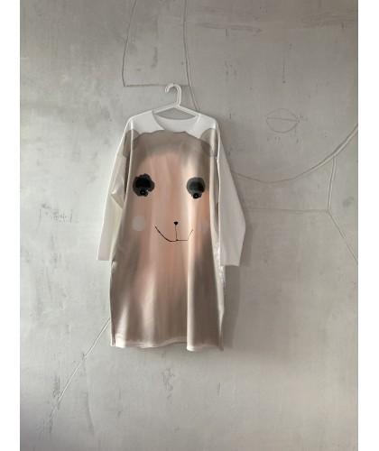 I'm cute bear 4 dress|tunic S