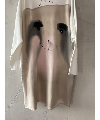 I'm cute bear 5 dress|tunic M
